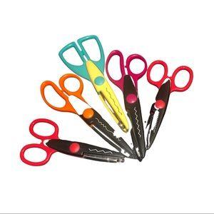 Lot of crazy scissors